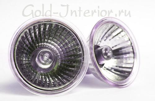 IRC-галогенные лампы с инфракрасным покрытием