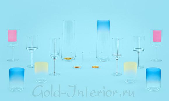 Scholten & Baijings - стеклянная посуда