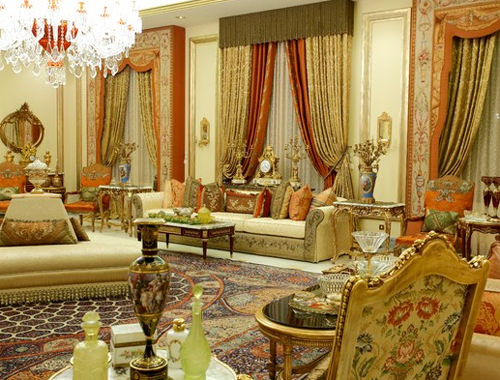 Аксессуары, украшающие арабский интерьер
