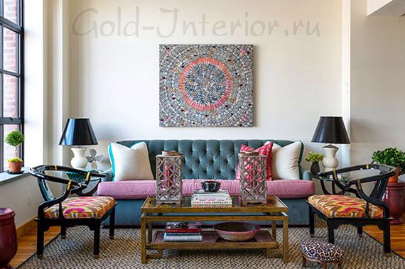 Американский стиль с марокканскими элементами
