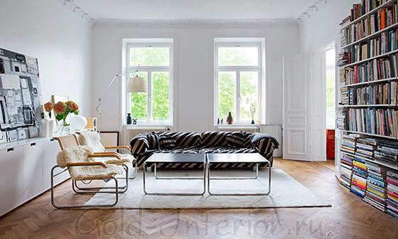 Белые двери + белые стены и потолок