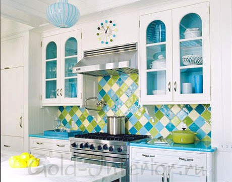 Элементы мебели и аксессуары бирюзового цвета