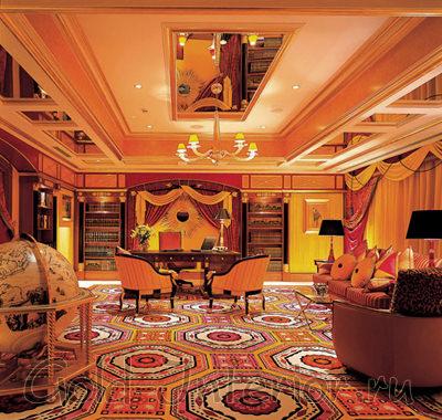 Цветовая гамма, характерная для арабского стиля