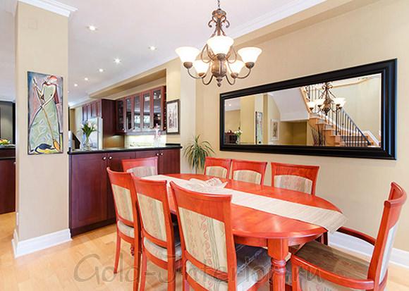 Цветовая палитра для совмещённой гостиной с кухней