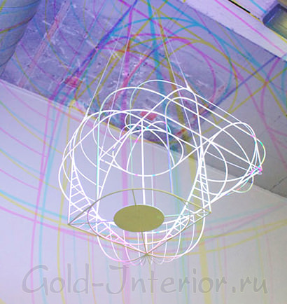Деннис Паррен - разноцветная лампа