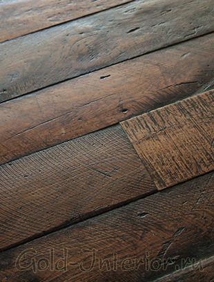 Деревянные доски напольные из тополя
