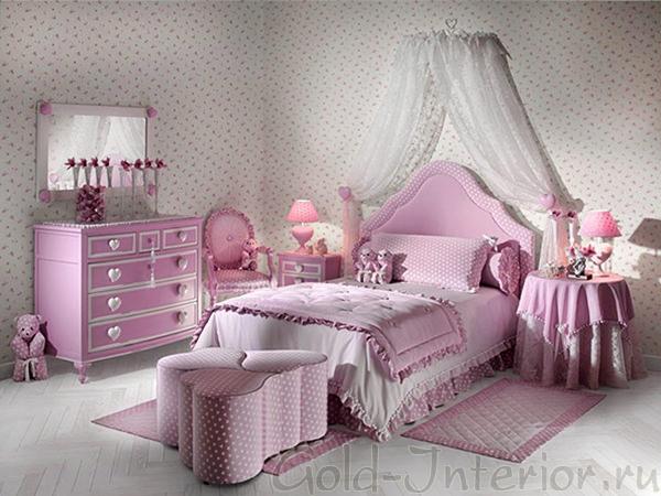 Детская комната в стиле рококо