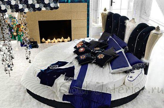 Детская круглая кровать для мальчика