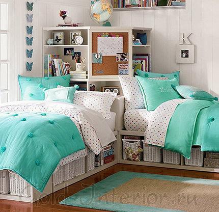 Детские кровати с системами хранения