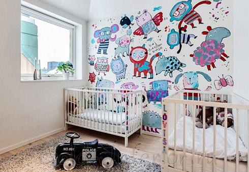 Детский уголок для младенцев в однушке
