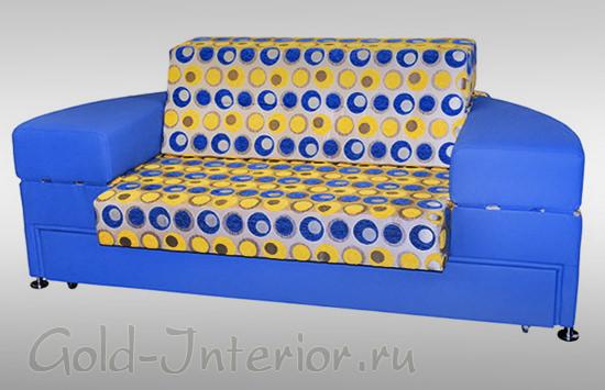 Диван-кровать в собранном виде
