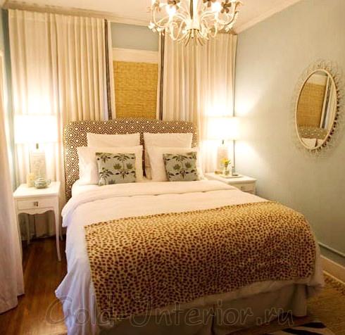 Дизайн маленькой спальни - 9 кв м