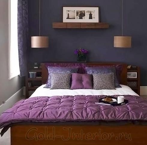 Дизайн спальной комнаты 9 кв.м.