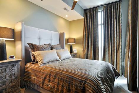 Дизайн спальной комнаты размерами в 12 кв м