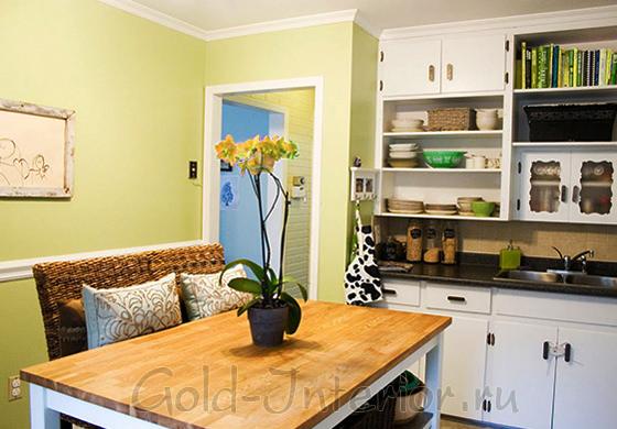 Оофрмление кухни площадью 10 квадратных метров