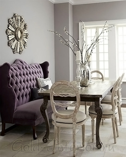 Дизайн интерьера небольшой столовой