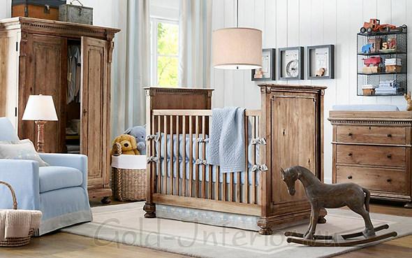 Дизайн комнаты для мальчика возраста 1-2 года