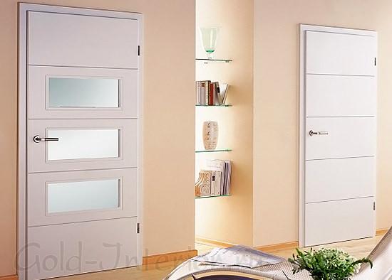 Две белые межкомнатные двери