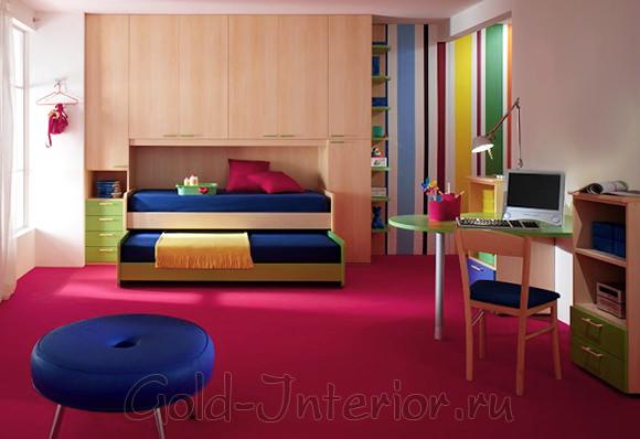 Двойная раздвижная кровать