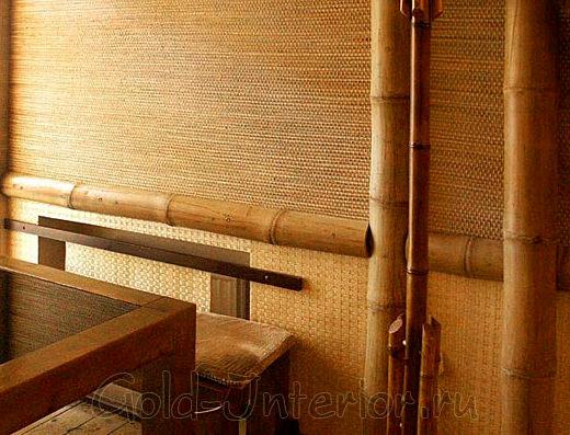 Эко-стиль и бамбуковые обои