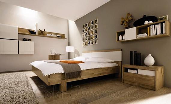 Экостиль в дизайне спальни