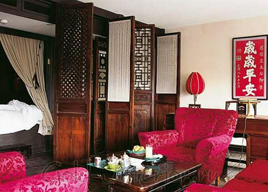 Этнический китайский стиль в интерьере