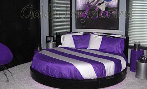 Фиолетовый + серебристый