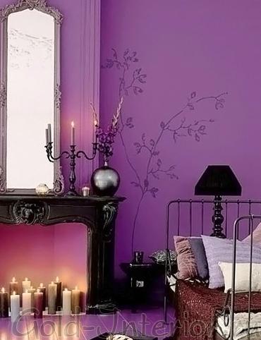 Фиолетовый цвет и околдовывающая магия
