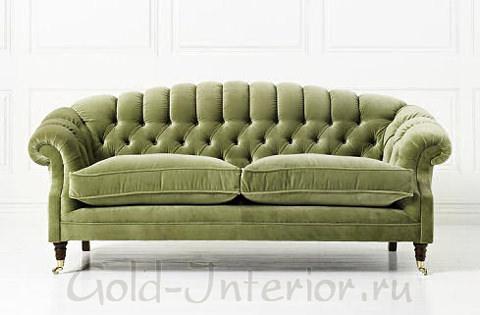 Фисташковый диван