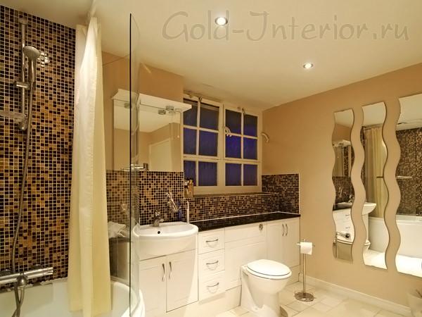 Фото объединения ванны и туалета