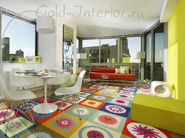 Фотогалерея дизайна интерьера однокомнатных квартир