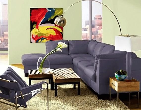 Фотокартина в квартире-студии