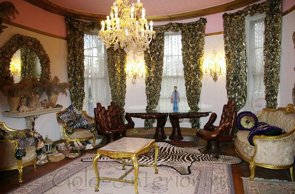 Гостиная в стилистике барокко