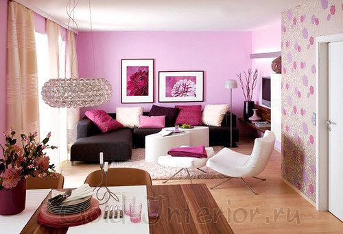 Идеальное сочетание розового с лиловым