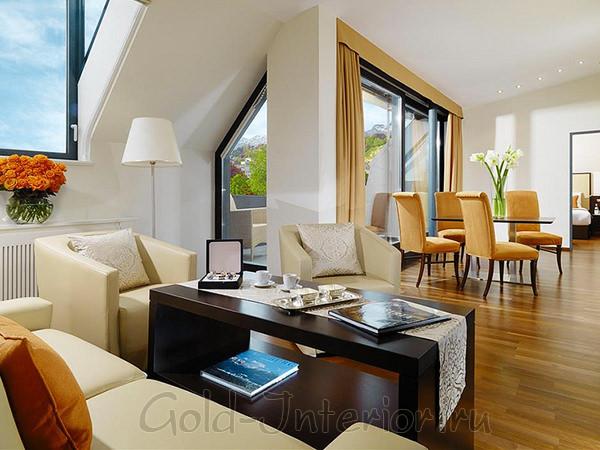 Идея интерьера трёхкомнатной квартиры