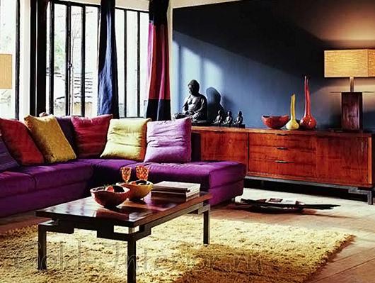 Индийские мотивы в интерьере гостиной