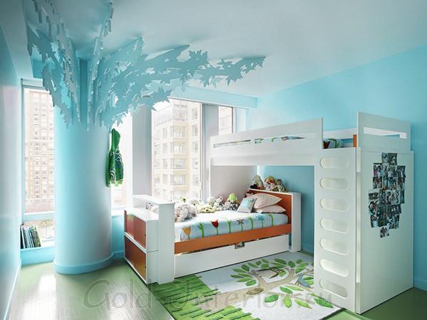 Интерьер детской комнаты для мальчика от 3 до 12 лет
