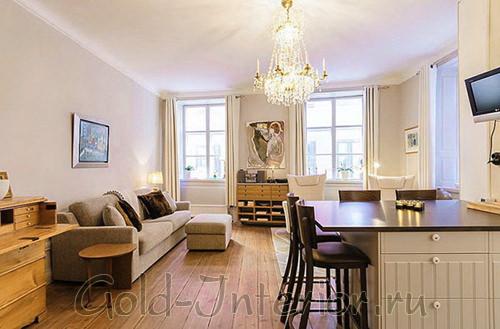 Интерьер для гостиной площадью 16 кв м