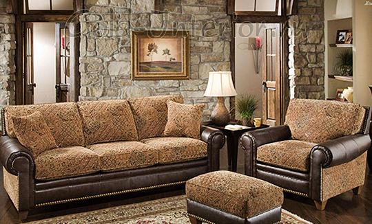 Интерьер гостиной в коричневой цветовой гамме