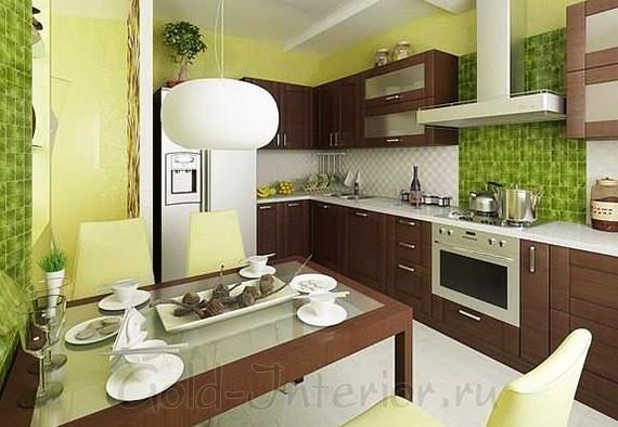 Интерьер кухни маленькой площади