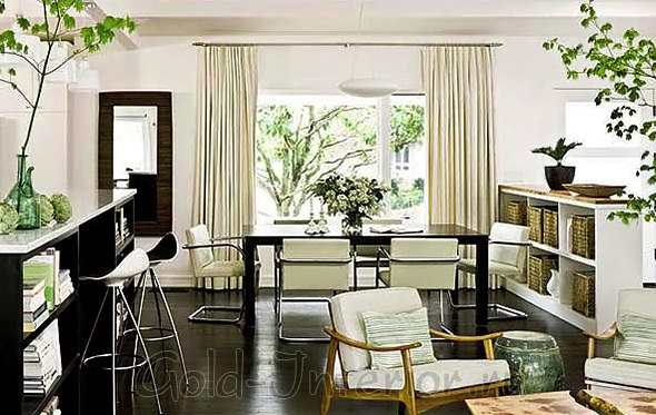 Интерьер малогабаритной трёхкомнатной квартиры
