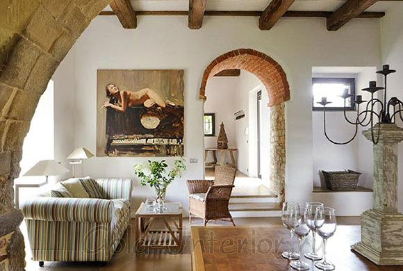 Итальянский стиль в гостиной