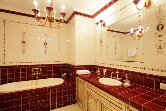 Итальянский стиль в ванной