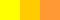 Жёлтый, жёлто-оранжевый, оранжевый