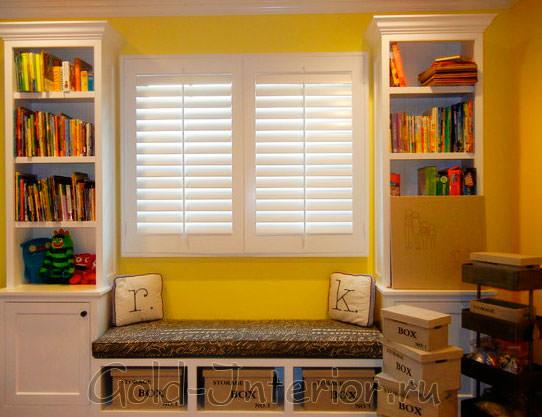 Жёлтый цвет в интерьере детской комнаты