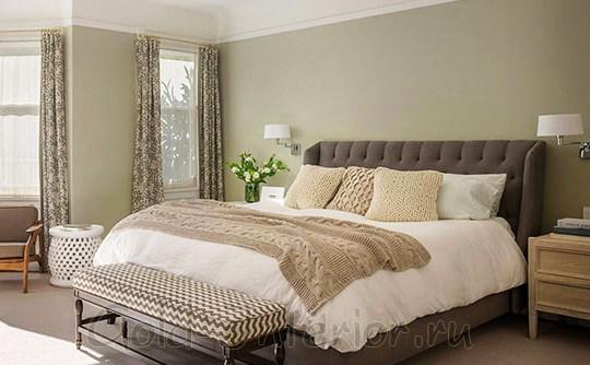 Качественный текстиль в спальне