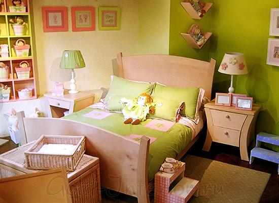 Комната для девочки 3-5 лет в стиле кантри