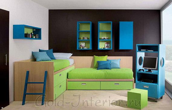 Комната для маленьких мальчиков