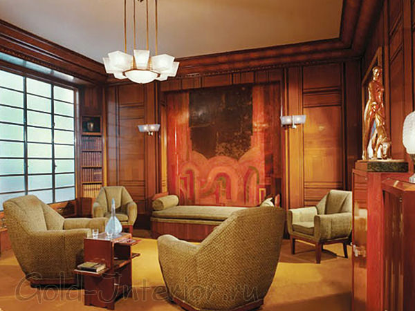 Комнаты в стиле арт-деко