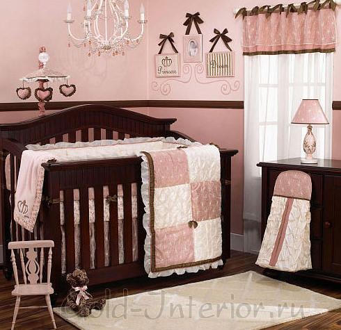 Цвет венге в интерьере детской: комод, кроватка и аксессуары